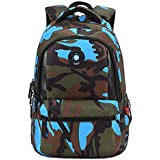 Fashion Camouflage Kid School Bag Travel Backpack Bags For Cool Boy And Girl