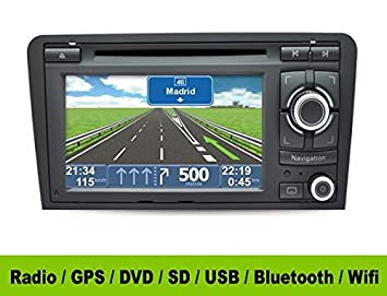 Radio Gps 2 Din Android Audi A3 8p Hd Gps Dvd Sd Usb Amazoncouk