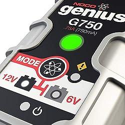 NOCO Genius G750 6V/12V .75A UltraSafe Smart Batte