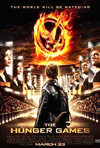 The Hunger Games STADIUM Rolled Poster 24 Inches X 36 Inches – UNCIRCULATED UNUSED, UNOPENED, Factory-Sealed in Plastic Wrap