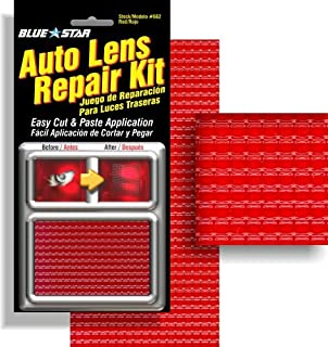 Amazon 3m 03441 1875 x 60 tailparking light repair tape blue star auto brake light tail light lens repair kit red color aloadofball Image collections