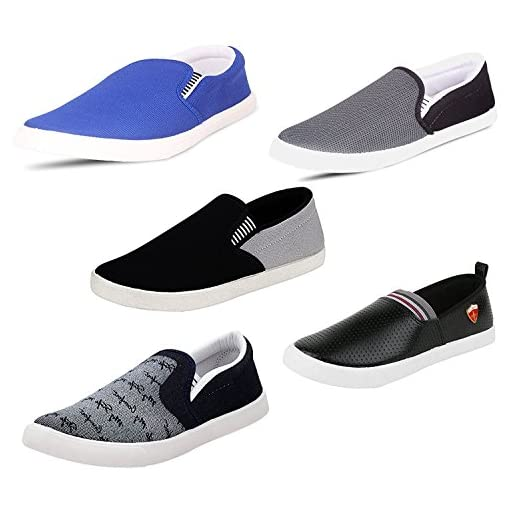 SCATCHITE Pack Of 5 Footwear Loafers Moccasins Sneakers