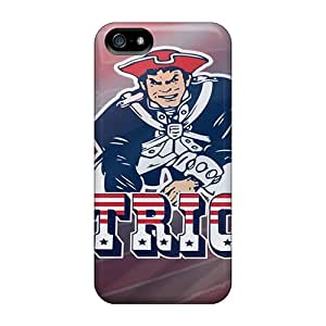 Hot SLh15790hUja New England Patriots Tpu Case Cover Compatible With Iphone 5/5s