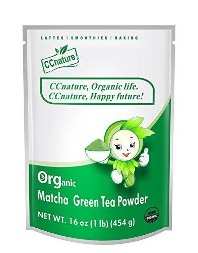 CCnature Organic Matcha Green Tea Powder 1lb by CCnature