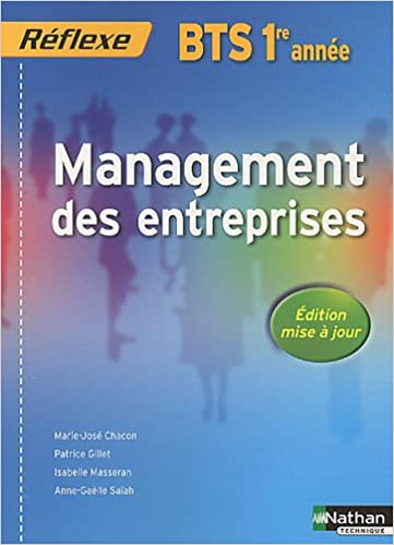 Livres gratuits en ligne Management des entreprises BTS 1re année pdf
