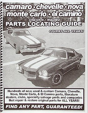 Find ANY Chevelle Malibu and El Camino Part with Parts Locating Guide ()
