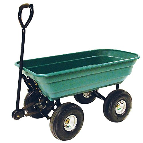 Precision LC2000 Capacity Mighty Garden Yard Cart, 600-Pound by Unknown (Image #2)