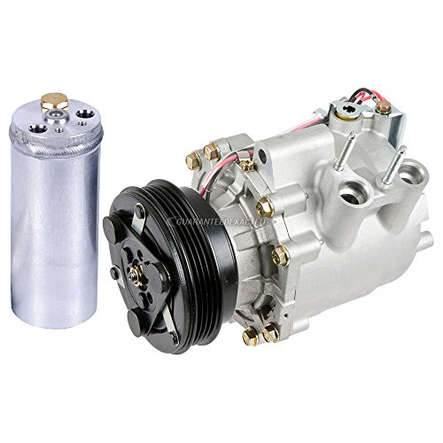Premium Quality New AC Compressor & Clutch With A/C Drier For Honda Civic Hybrid - BuyAutoParts 60-86488R2 New