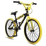 SE Bikes So Cal Flyer Bicycle, 24', Black/Yellow