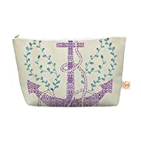"Kess InHouse Everything Bag, Tapered Pouch, Pom Graphic Design ""Tribal Nautica II"", 8.5 x 4 Inches (PG1022BEP03)"
