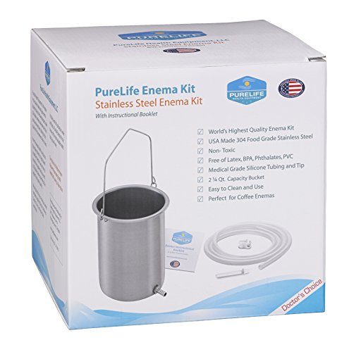 Purelife Made Stainless Steel Enema product image
