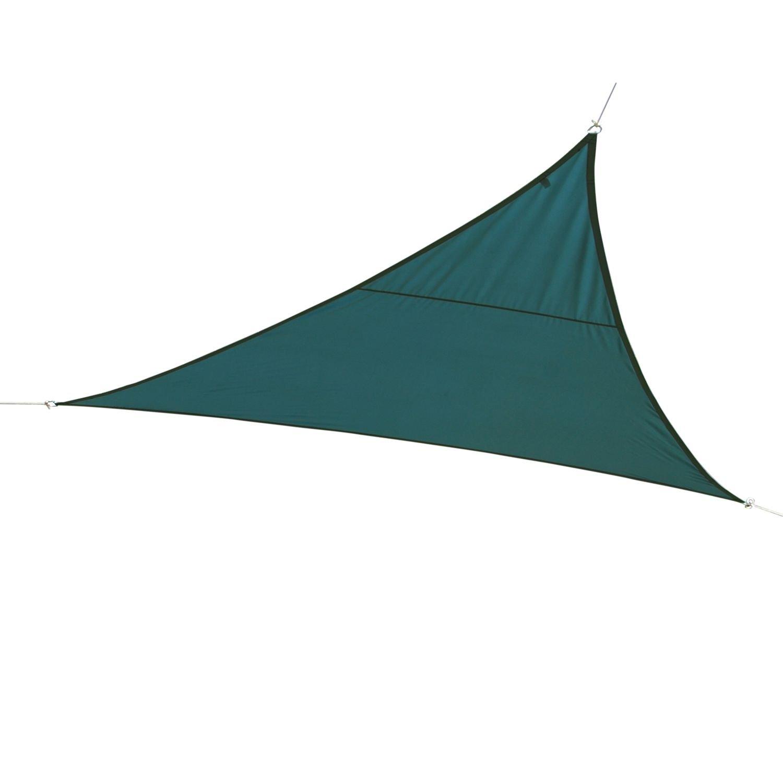 Hespéride Tela solare/Vela ombreggiante triangolare Curacao–2x 2x 2m–blu Orage