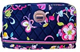 Vera Bradley Turn Lock Wallet in Ribbons
