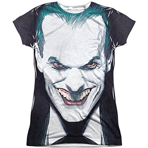 Price comparison product image Batman Last Dance Juniors Sublimation Shirt White MD