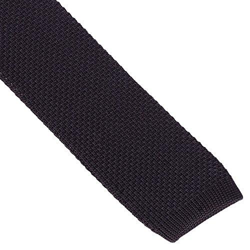 Cravate Tricot Noire