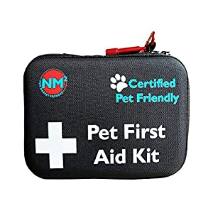 Pet First Aid Kit for Dogs & Cats | 45 Piece First Aid Bag for Pets, Animals | Perfect for Travel Emergencies with Pet First Aid Guide Book and Instructions | Certified Pet Friendly | FDA Approved 3