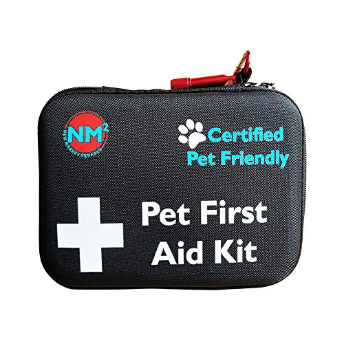 1. New Market Squared Pet First Aid Kit for Dogs & Cats