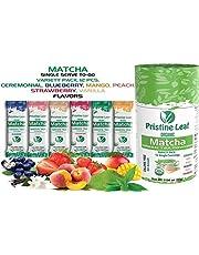 Pristine Leaf Matcha Single Serve - Flavored Matcha