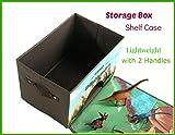 Dinosaur Toy Chest Storage Box Organizer, 6 Bonus