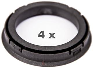 4x anillas de centrado 70,0-57,1 mm autec rial Alutec para AUDI VW ford chrysler seat