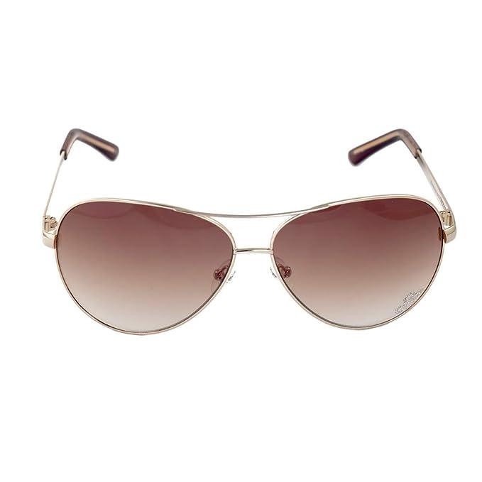 Guess GU7195GLD-3462 Gafas de Sol, Rosado, 62 para Mujer