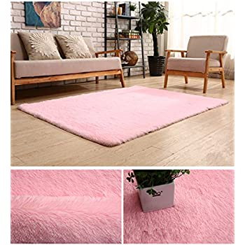 Amazon.com: Generic 0270 Super Soft Modern Shag Area Rug, 4\' x 5 ...