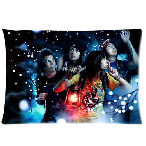 Pierce The Veil Zippered Pillow Cases Cover Cushion Case 20x30 (Two sides)