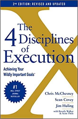 the 4 disciplines book cover