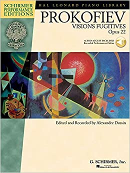Book Prokofiev: Visions Fugitives, Opus 22 (Hal Leonard Piano Library)