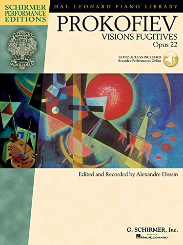 Sergei Prokofiev - Visions Fugitives, Op. 22 With Access to Online Audio of Performances (Schirmer Performance Editions) [Dossin, Alexandre] (Tapa Blanda)