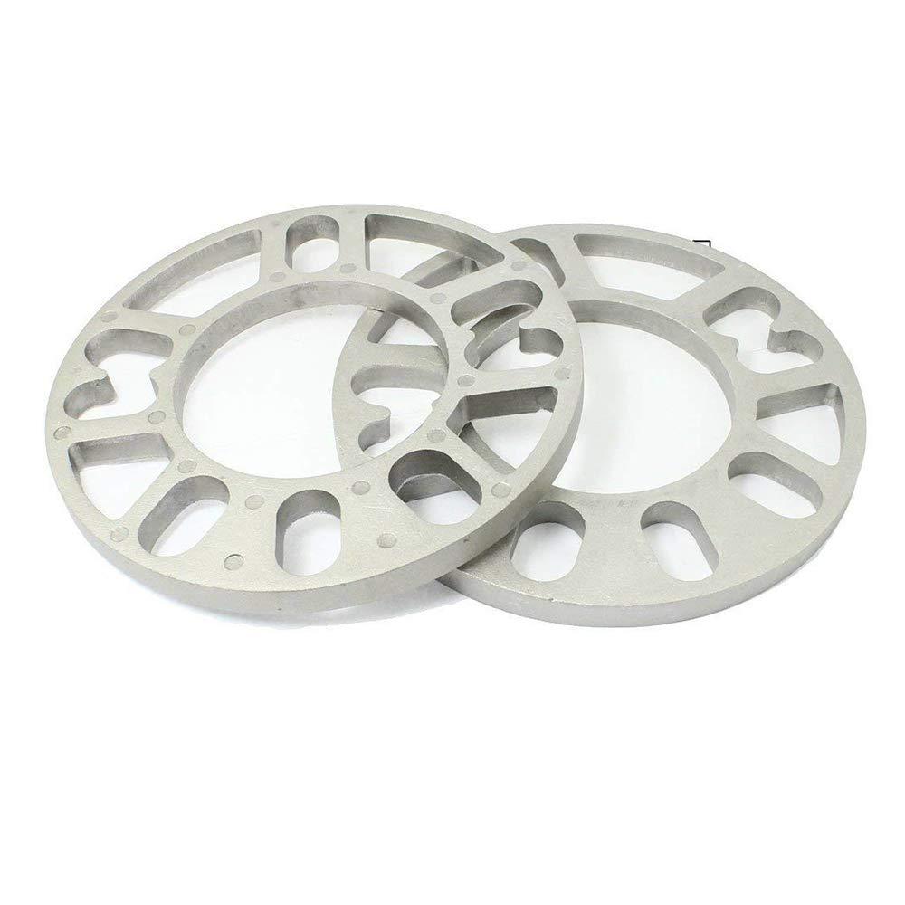 Heart Service Car Wheel Hub Spacer Wheel Gasket Aluminum Gasket Wheel Spacer Car Accessories 10 mm Thick 2 Pcs