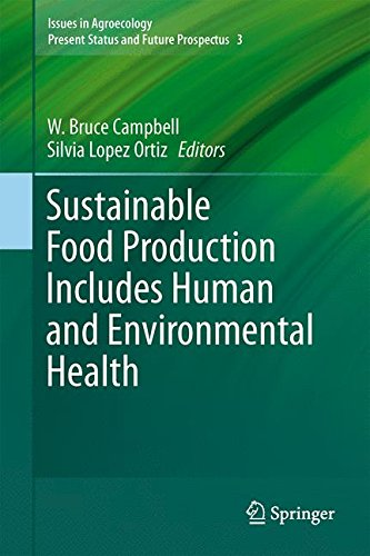 Sustainable Food Production Includes Human and Environmental Health (Issues in Agroecology – Present Status and Future P