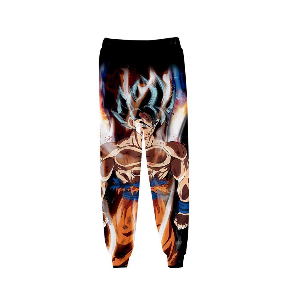 WJYHXW Anime Hip Hop Pantalones De Chándal Unisexo Dragon Ball Z ...