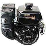 Kohler 9.5HP Command Pro, 6:1 Gear Reduction Horizontal 1''x3'' Shaft, Recoil & Electric Start, OHV, CIS, Cyclonic Air Engine
