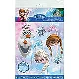 Unique Disney Frozen Photo Booth Props, 8 Piece