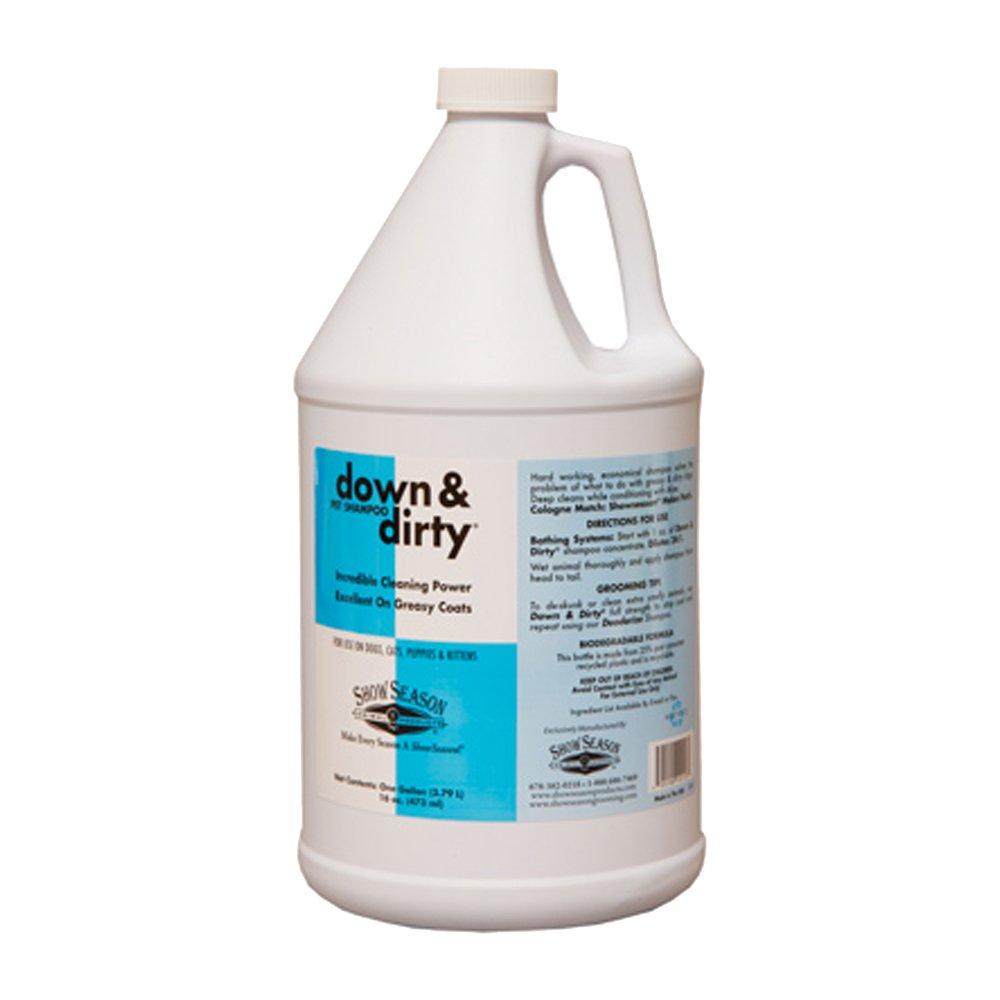 ShowSeason Down and Dirty Shampoo, 1 gallon