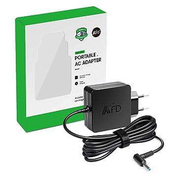 KFD 45W Adaptador de Corriente Cargador para HP Pavilion 11-n010dx Elitebook x360 Folio 1040 G1 G2 Stream 13 11 14 Split 13 x2 13-g110dx 13-m010dx ...