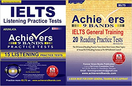 Buy Achievers 9 Bands Combo Pack 20 General Training Reading