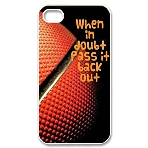 Basketball Unique Design Case for Iphone 4,4S, New Fashion Basketball Case