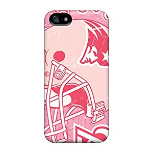Premium VkG2996myOI Case With Scratch-resistant/ New England Patriots Case Cover For Iphone 5/5s