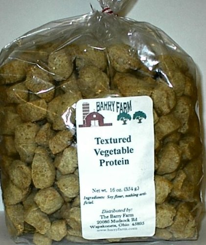 - Textured Vegetable Protein Chunks, 1 lb.