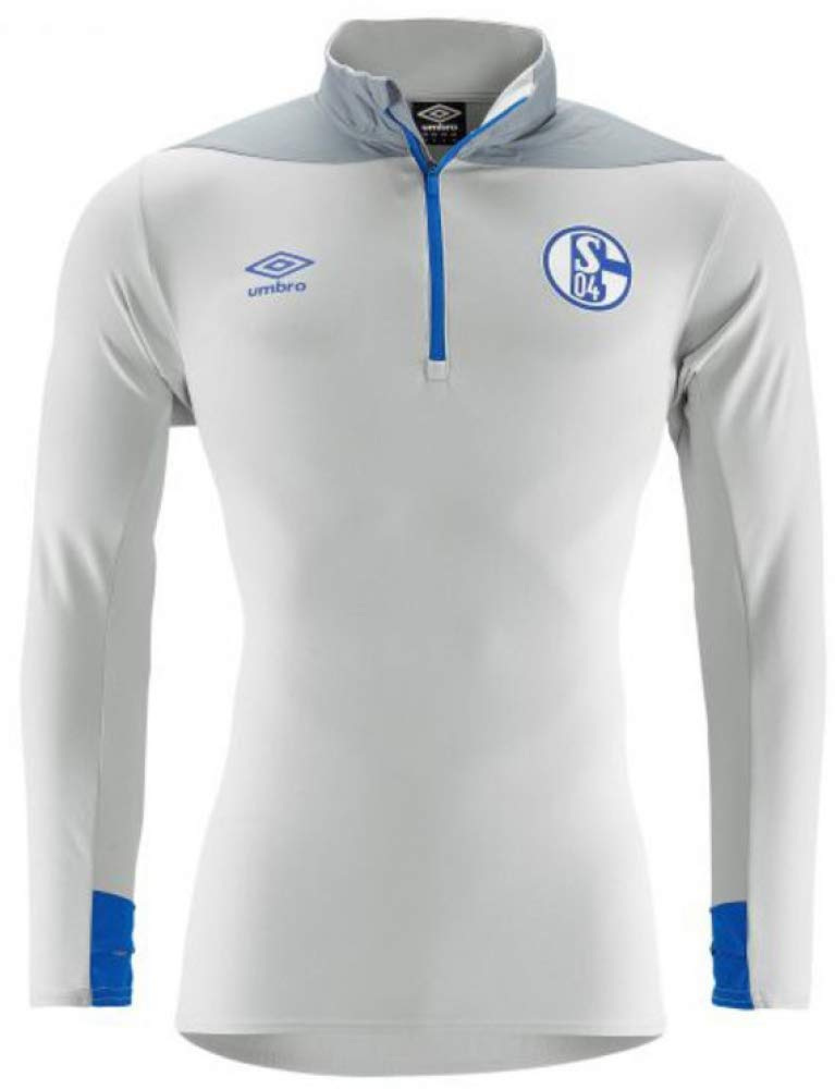 Umbro FC Schalke 04 Trainingstop Zip Team Grau