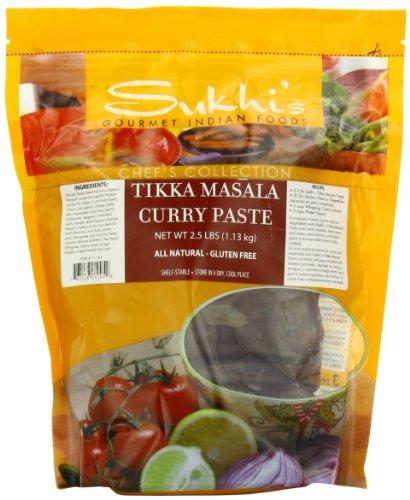 (Sukhi's Tikka Masala Curry Paste - 2.5 Pound)
