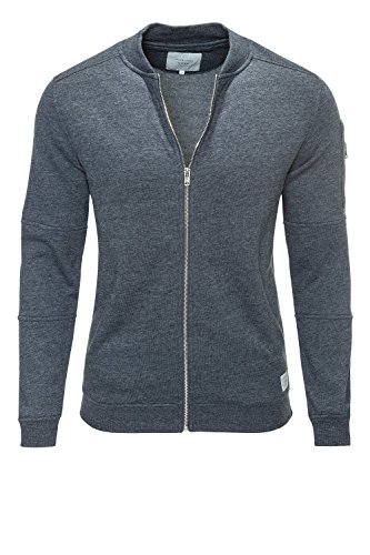 Jones Jack Zip Giacca Noos Baseball Sky Uomo Jcopete Neck Captain amp; Sweat g445Hq