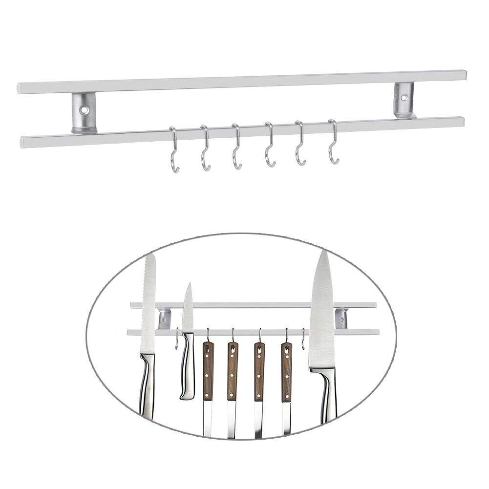 AWinEur Kitchen Magnetic Knife Rack Holder 16