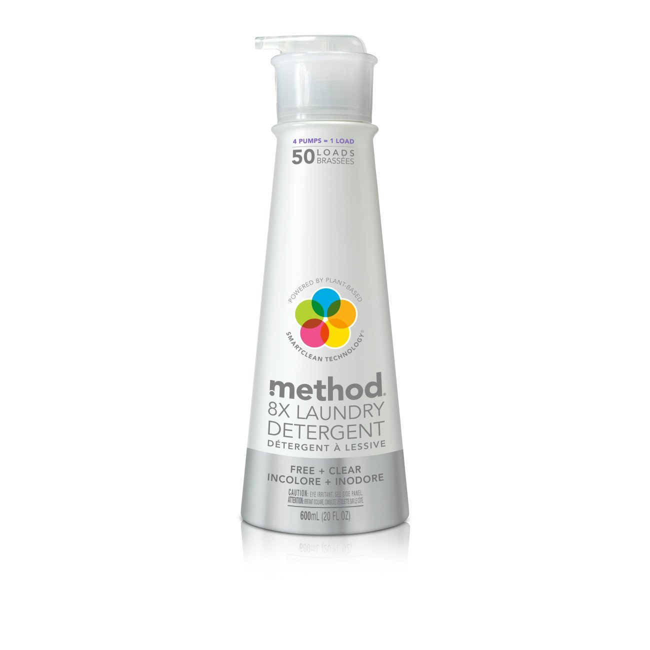 Method Laundry Detergent with Pump, Free + Clear, 20 Ounce, 50 Loads product