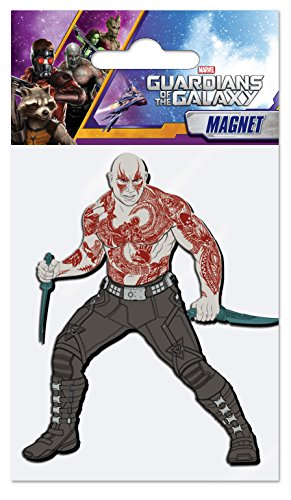 Marvel Drax The Destroyer Soft Touch PVC Magnet]()