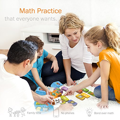 Logic Roots Pet Me Multiplication and Division Game – Fun Math Board Game for 5 – 9 Year Olds, Easy Start STEM Toy…