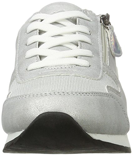 Silber Femme Basses Argent Sneakers Lico Silver vawYqYOB