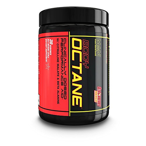 MAN Sports Body Octane Clinically Dosed Performance Aid Powd